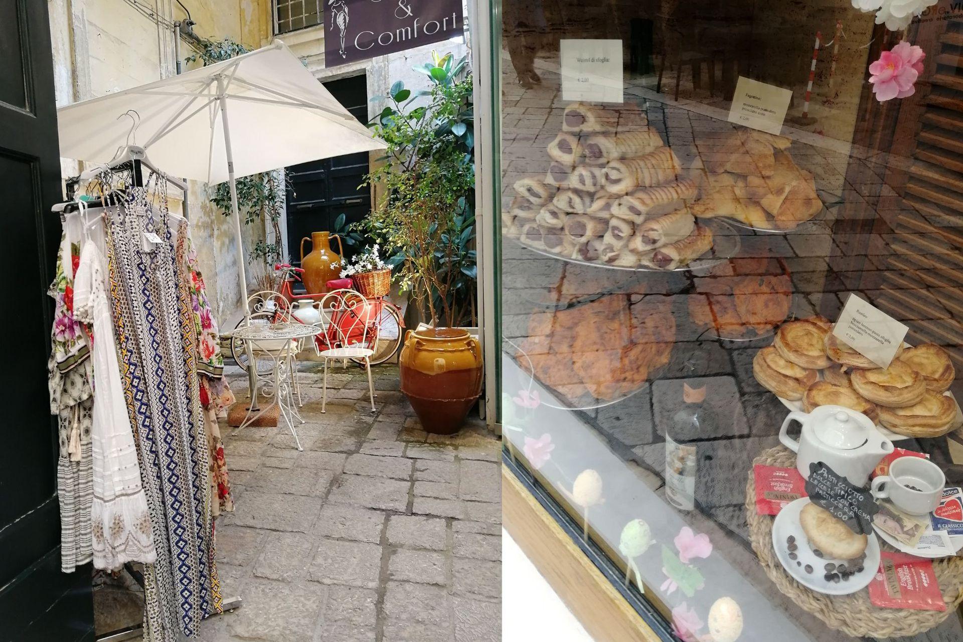 Der. Pasteleria de la ciudad de Lecce