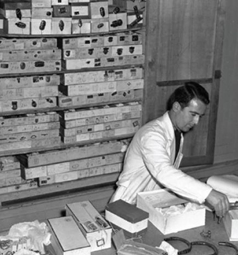 La primer tienda de marroquinería en Florencia, Guccio Gucci, el ex botones del Hotel Savoy en Londres, apostó al mercado del lujo y comenzó a producir valijas y bolsos de cuero para la gente más adinerada