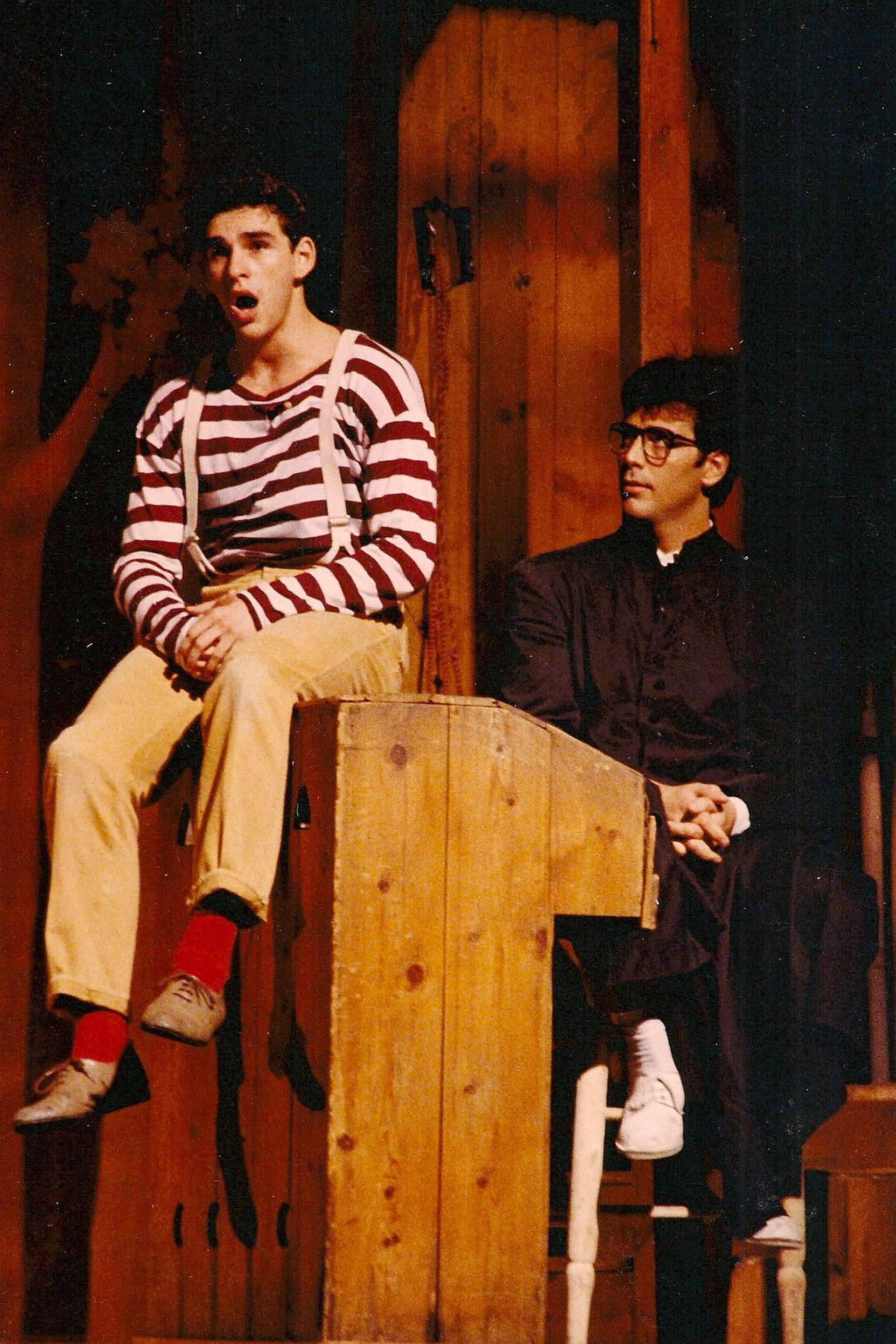 Diego Jaraz y Juan Darthés, en El diluvio que viene