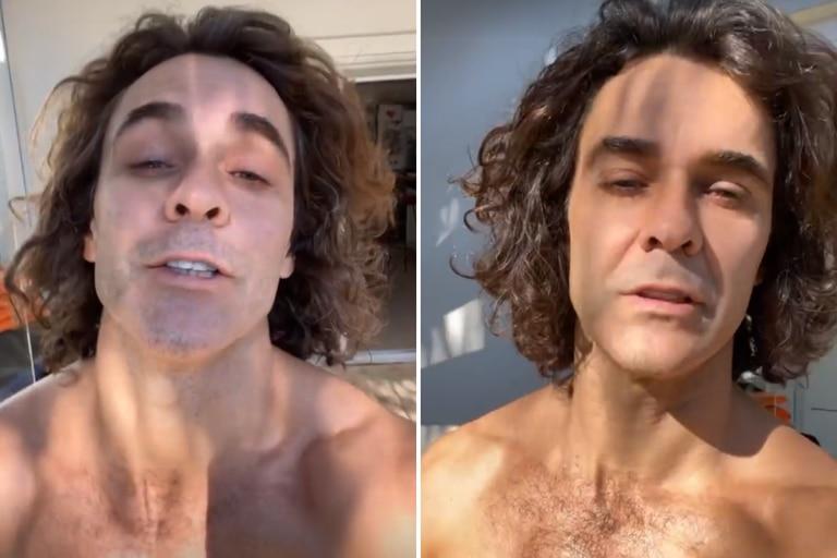 """Mariano Martínez respondió a las críticas por sus últimos videos: """"Hay que meterle actitud"""""""