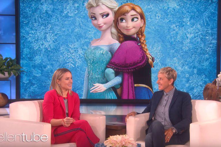 Kristen Bell habló sobre lo que se viene en Frozen 2