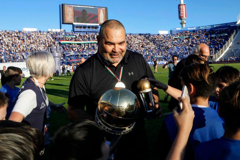 La polémica frase de Chilavert contra la Conmebol en el homenaje de Vélez