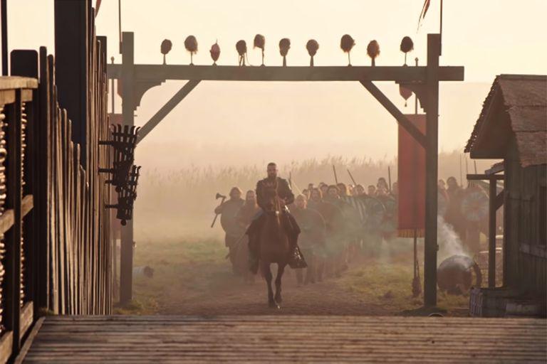 Se conocieron imágenes del detrás de escena de Vikings: Valhalla