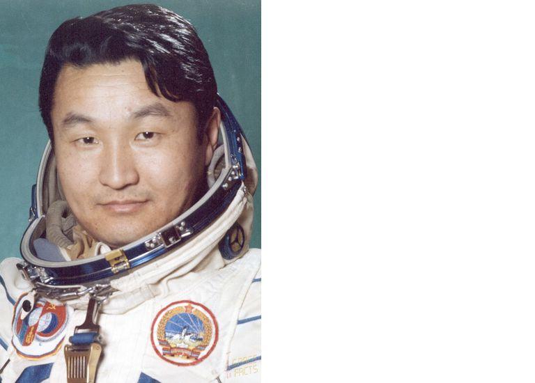 Jügderdemidiin Gürragchaa, único astronauta de Mongolia, viajó al espacio en 1981