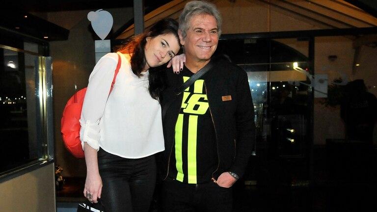 Beto Casella volvió con cu novia, Carolina Wyler