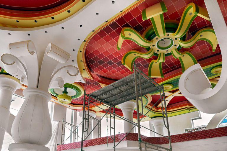 Salón de eventos, Bolivia (2018). Fotografía de Florencia Blanco, artista representada por la galería La Arte de Salta