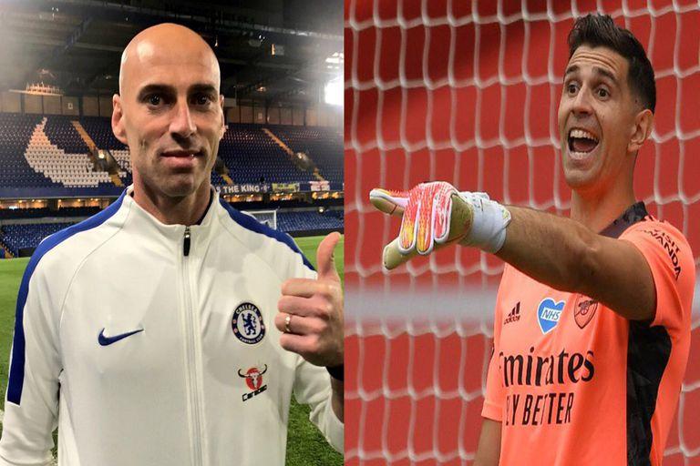 La veteranía de Caballero (38 años) en Chelsea frente a Martínez, que a los 27 años intenta consolidarse en Arsenal