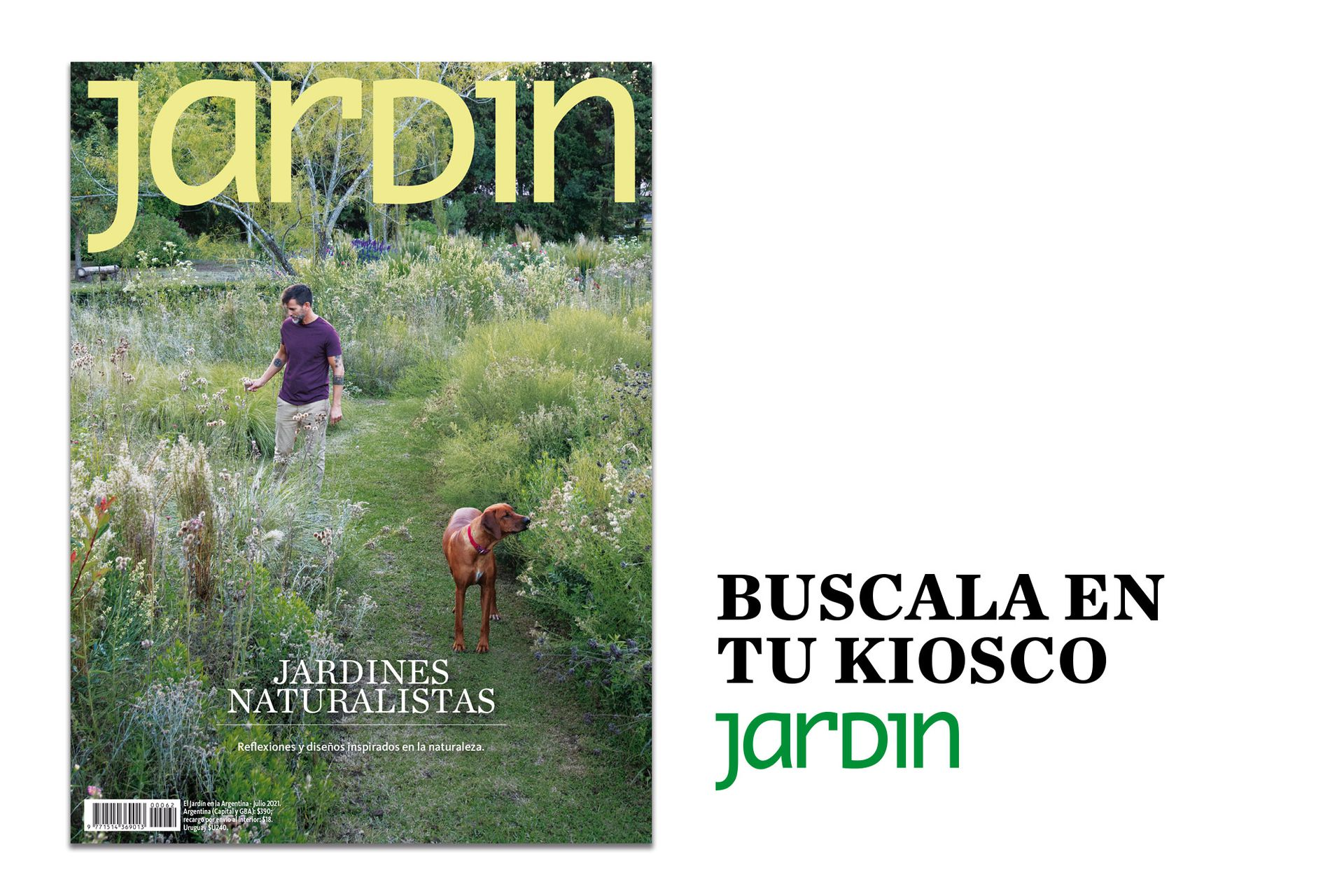 En julio, Jardín dedica una edición especial a los jardines naturalistas.