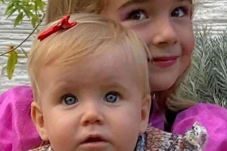 Olivia y Anna, las hijas de Tomás Gimeno y Beatriz Zimmermann