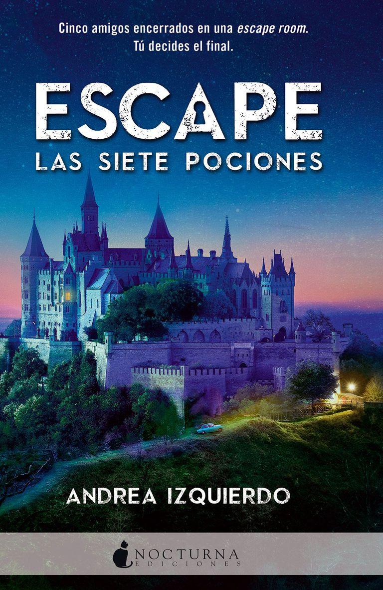 Portada del nuevo libro de Andrea Izquierdo, que se publicará en abril