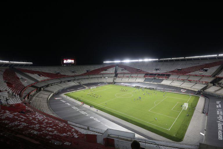 Copa de la Liga 2021, River Plate vs Rosario Central, 20 de febrero de 2021.