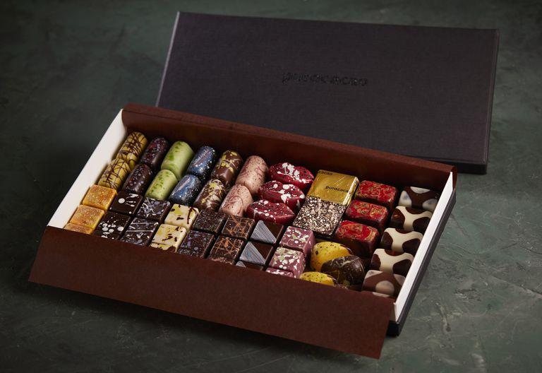 Bombones de PuroCacao del chocolatier Rodrigo Bauni.