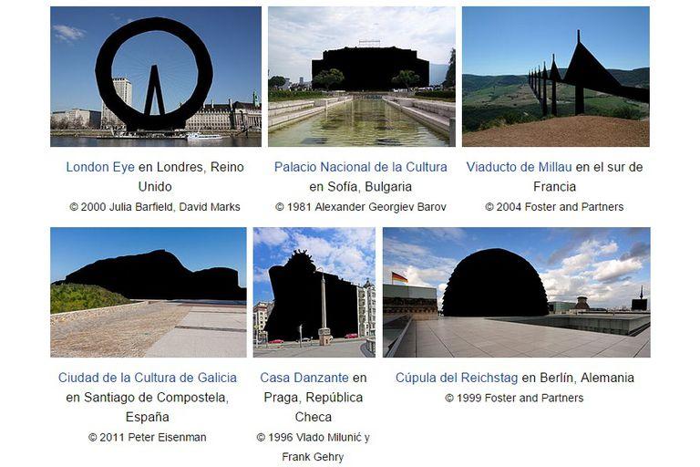 Así protestaba la Wikipedia contra este cambio en la legislación, ya que hubiera perdido la posibilidad de publicar fotos de monumentos o edificios públicos en Europa