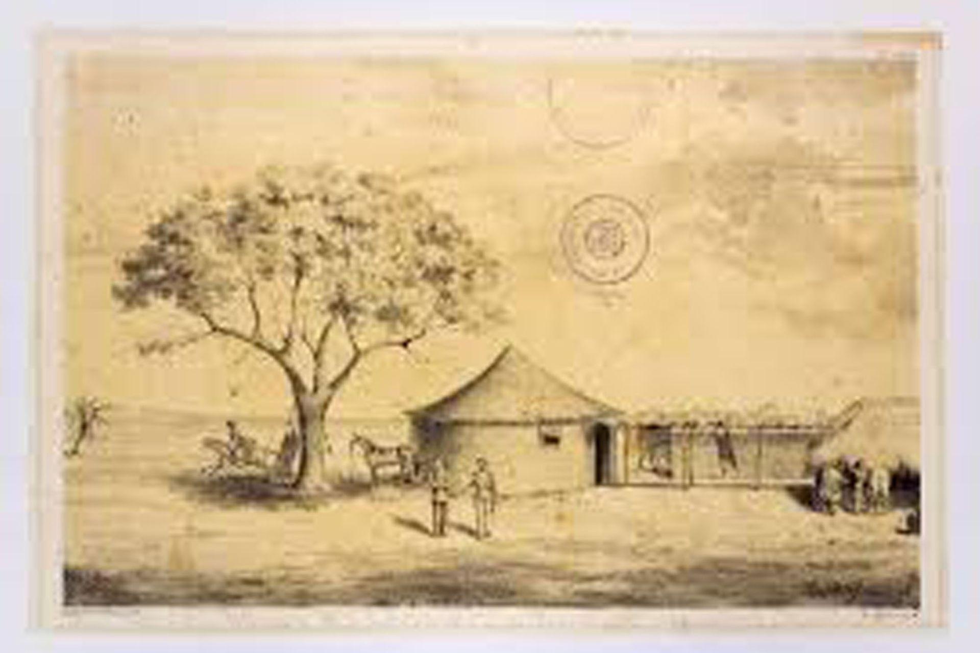 Cuartel en Tuyuti.
