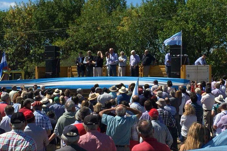 Con un acto en San Pedro, los productores conmemoraron los diez años de la 125