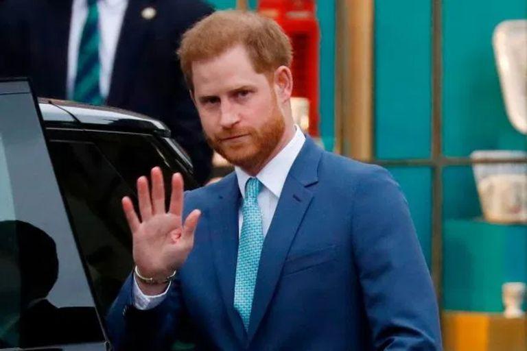 El papelón del príncipe Harry el día que murió su abuelo Felipe