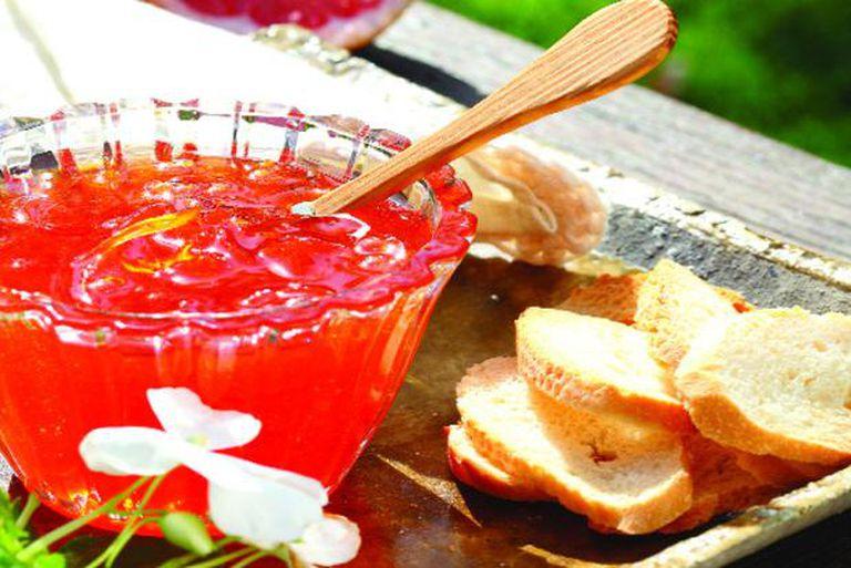 Mermelada de pomelos rosados o chutney cítrico