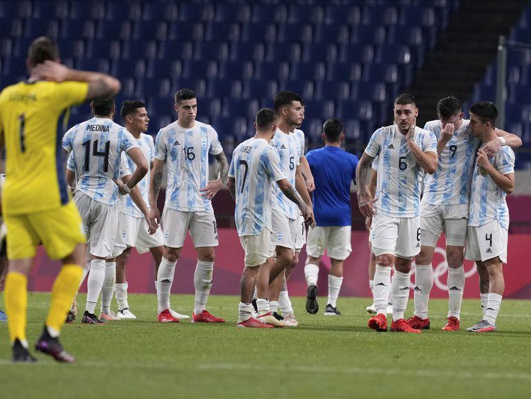 La Argentina no pudo con España en el fútbol olímpico y quedó eliminada