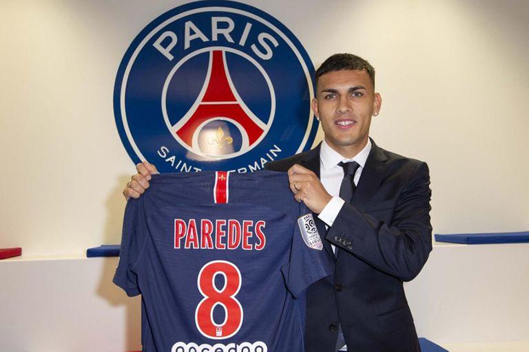 Leandro Paredes se formó en Boca, viene del Zenit de Sant Petersburgo y llegó al PSG