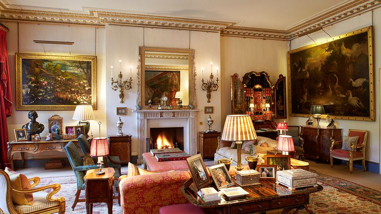 La Sala del Jardín de Clarence House se hizo tras remodelar dos habitaciones que habitaba la princesa Margarita antes de casarse.