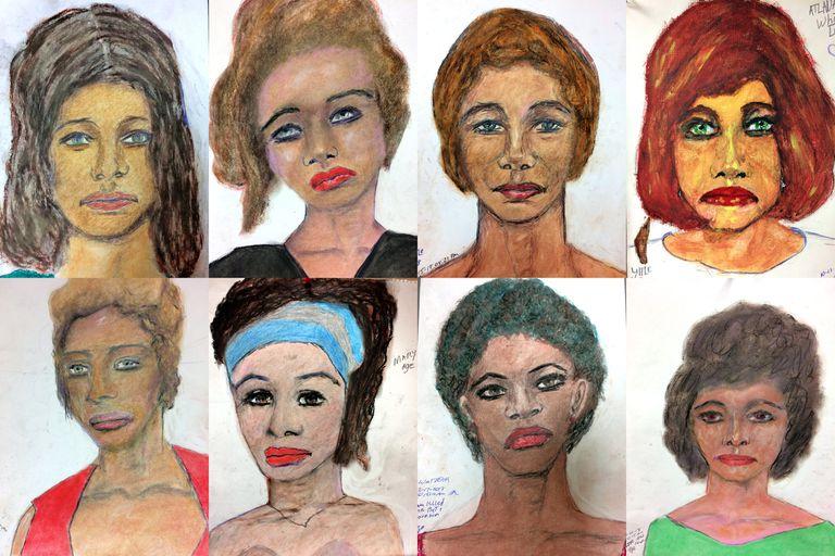El FBI dio a conocer los retratos que Samuel Little hizo de sus víctimas con la esperanza de que las mujeres puedan ser identificadas