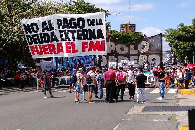 El Polo Obrero activó la primera protesta con reclamos a la gestión de Fernández