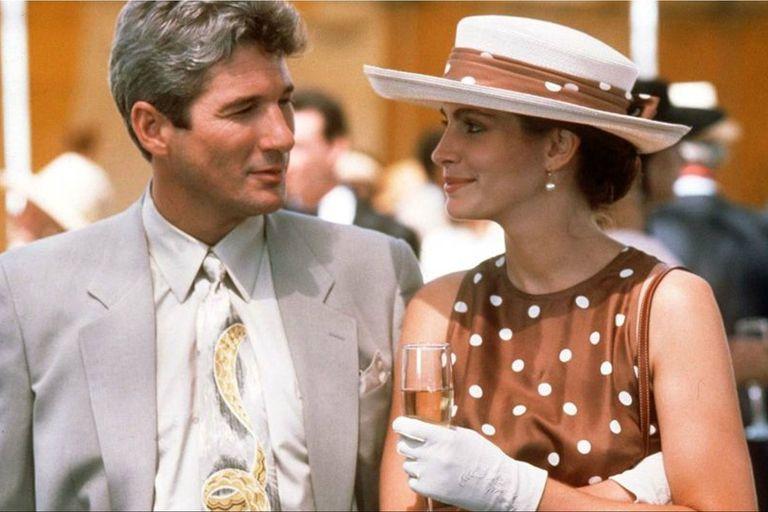 Con Richard Gere, en Mujer bonita, su película consagratoria