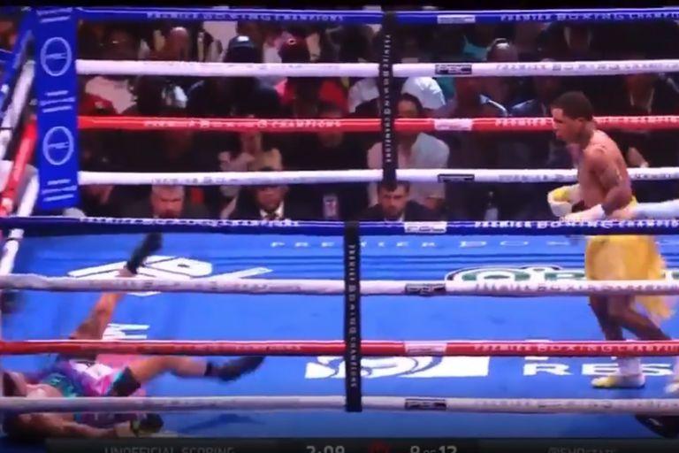 Las impactantes victorias por KO de Gervonta Davis y Lomachenko