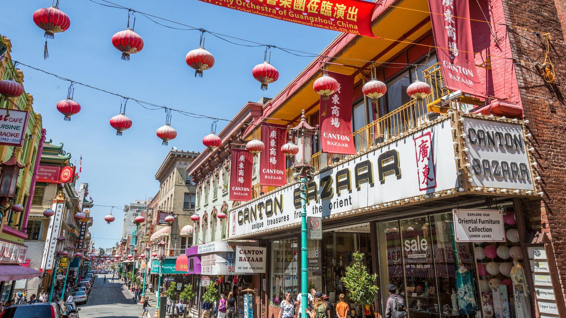 China Town, San Francisco.