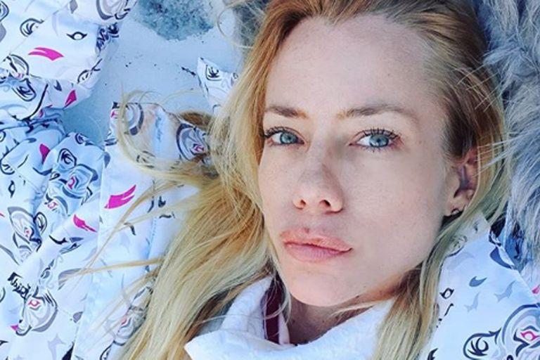 Tras recibir un mensaje de su ex, Fabián Cubero, la modelo se descompuso al aire y tuvo que abandonar el estudio.
