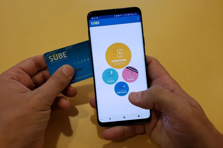 El uso de NFC para recargar la tarjeta SUBE todavía es minoritario, porque es bajo el número de celulares compatibles, aunque la norma se usa hace muchísimos años
