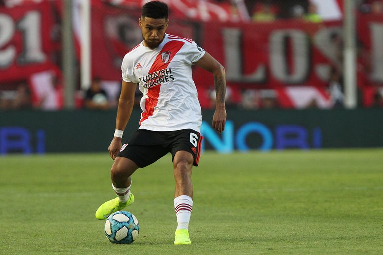 Paulo Díaz, el defensor central de mejor rendimiento en la actualidad de River
