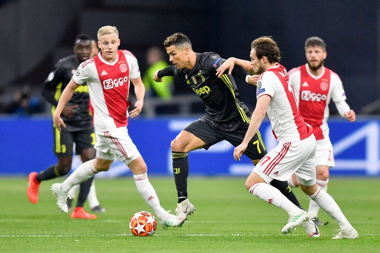 Ajax y Juventus igualaron 1 a 1 en el partido de ida de los cuartos de final