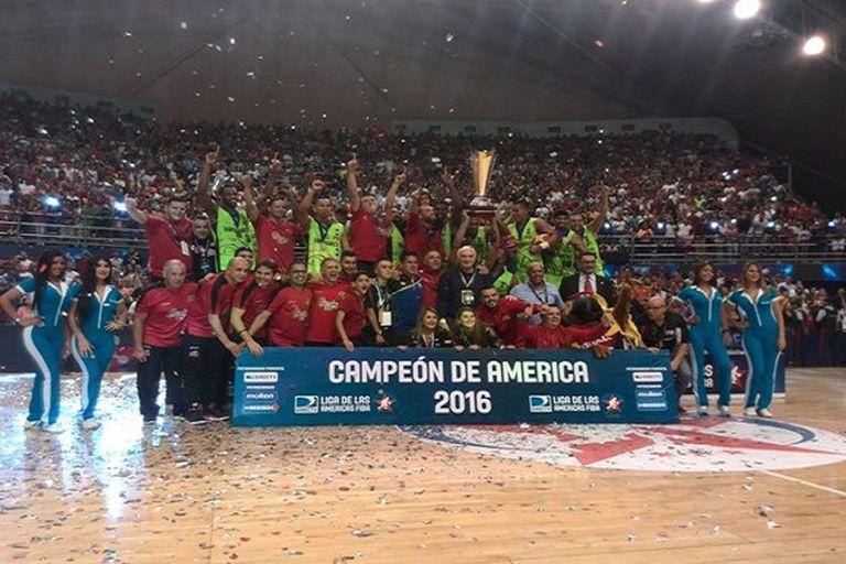 Guaros de Lara se coronó campeón de América