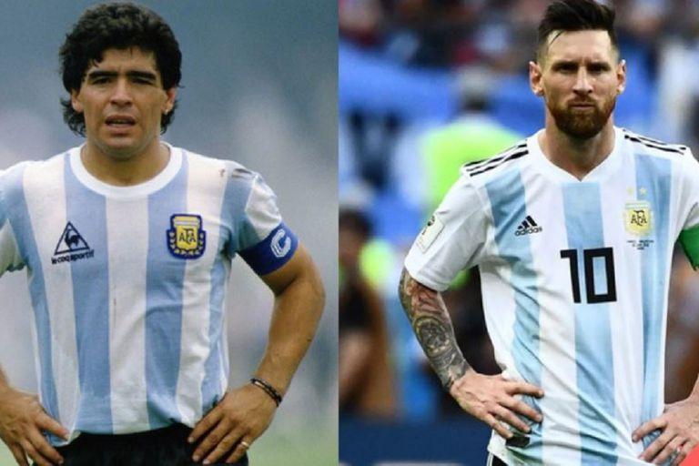 Maradona: la dura comparación del DT campeón de la Libertadores con Messi y CR7
