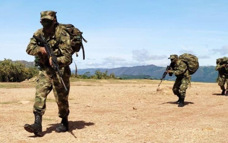 25-04-2021 Militares de las Fuerzas Armadas de Colombia POLITICA SUDAMÉRICA COLOMBIA FUERZAS ARMADAS DE COLOMBIA