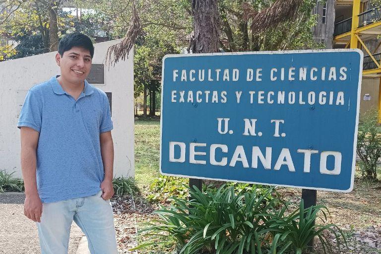 El joven que busca ayudar a estudiantes y artesanos jujeños con tecnología