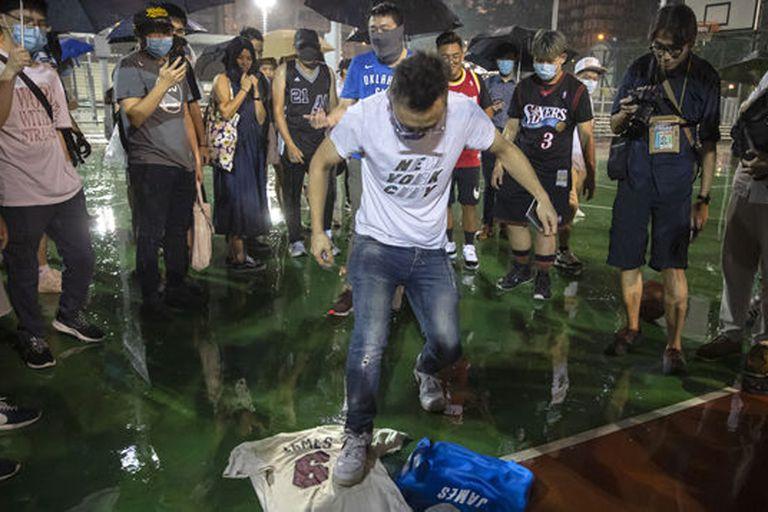 La crisis entre la China y la NBA