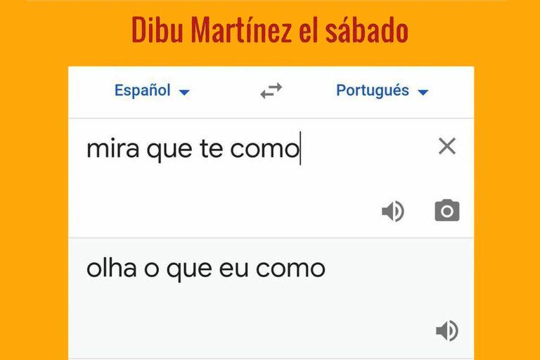 La traducción de la frase que Martínez le dijo a Mina, antes de atajar el primer penal