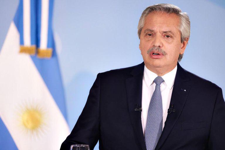 """""""No voy a aceptar que se naturalice esta cantidad de contagios y fallecimientos"""", dijo Alberto Fernández"""