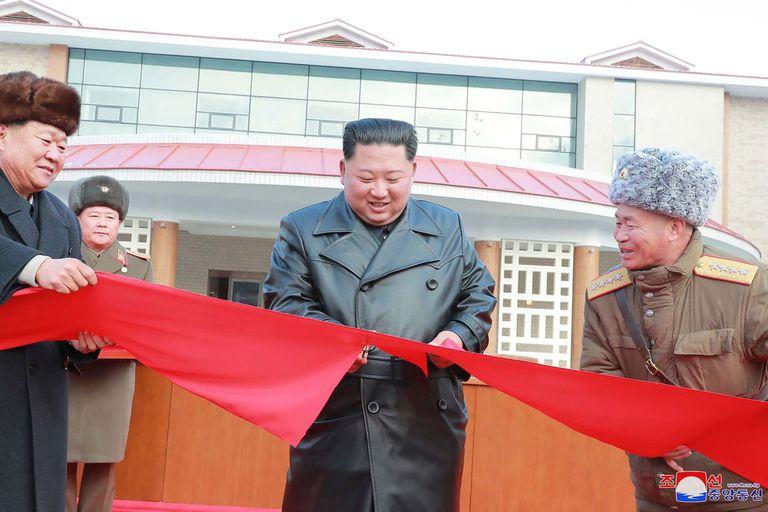 Kim, durante la inauguración de un acto cultural en Pyongyang