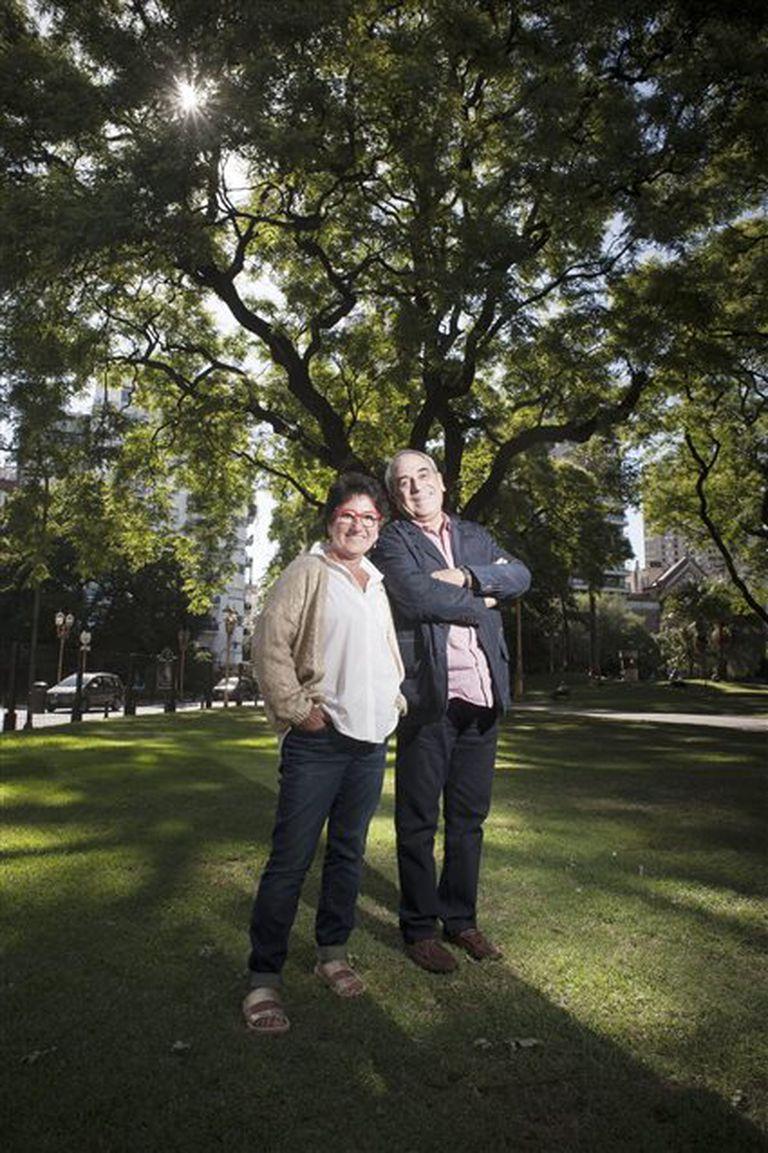 Orly Benzacar y Jorge Mara