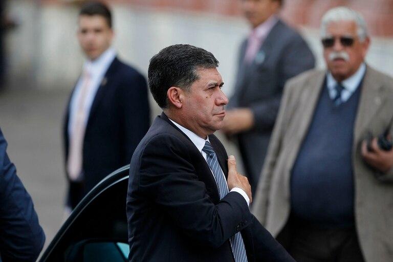 El gobernador de La Rioja, Sergio Casas, en 2018