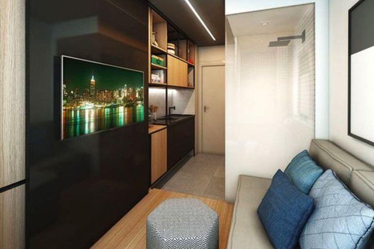 Este apartamento en San Pablo de 10 m2 se vendió a US$18.000