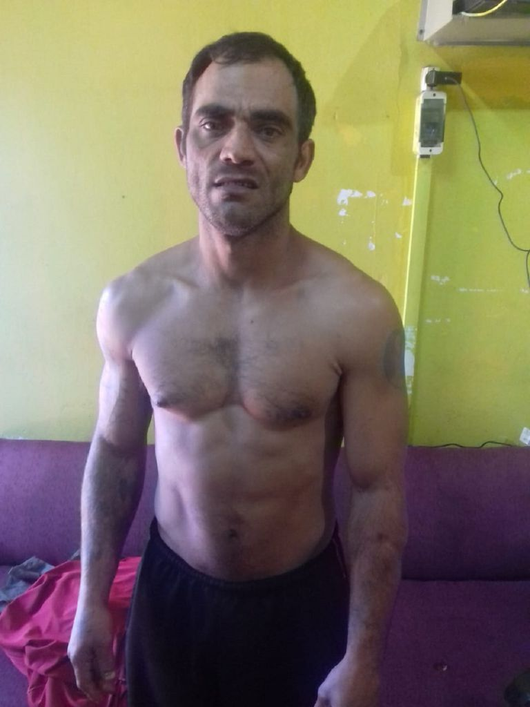 Carlos Eduardo Reinicke, tras su detención en El Soberbio, Misiones