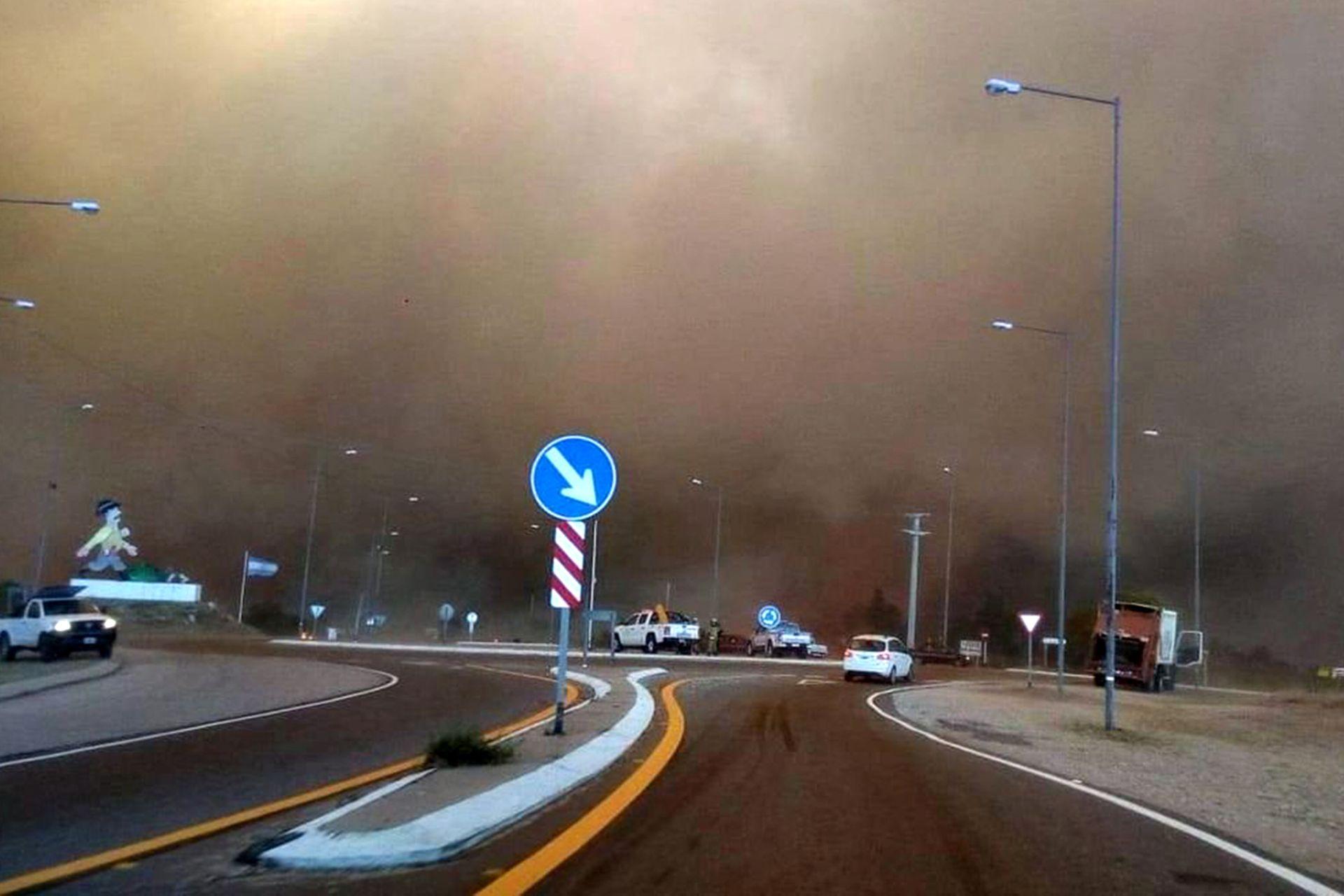 Incendios en la zona de Calamuchita y Potrero de Garay, en Córdoba