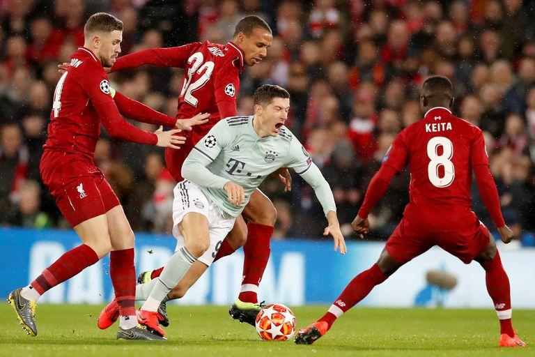 Lewandoski estuvo apagado, y Bayern lo sufrió.
