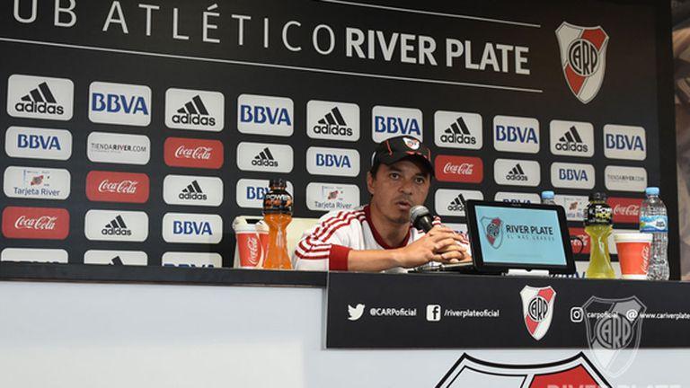 Marcelo Gallardo conforme con la pretemporada de River