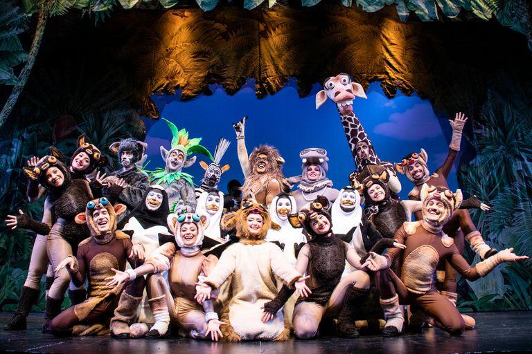 Madagascar, en el teatro