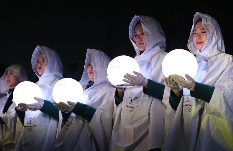 Clausura de los Juegos Olímpicos de invierno en Pyeongchang
